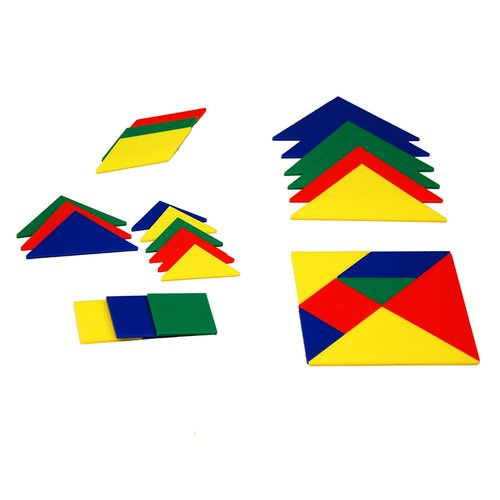 Learning Advantage 28 Piece Tangrams  Set