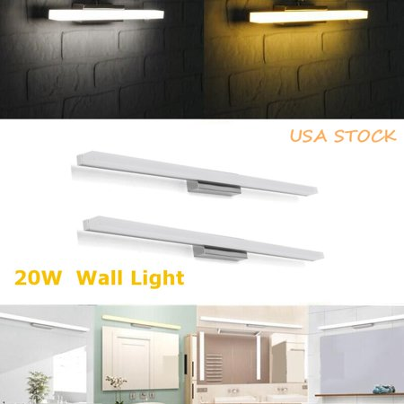 20W LED SMD Wall Sconces Makeup Mirror Front Lamp Bathroom Living Room Light Fixture Waterproof Antifogging  - image 7 of 7