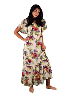 db1eb416893 Product Image Peach Couture Womens Summer Gypsy Bohemian Vintage Floral  Long Maxi Dress