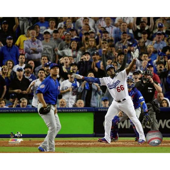 Yasiel Puig Home Run Game 1 of the 2017 National League Championship Series  Photo Print