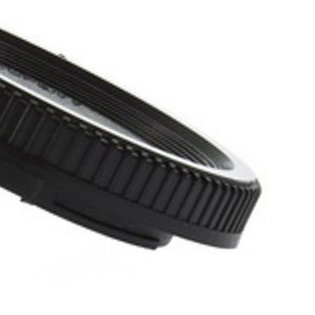 58*22mm Body Cap + Rear Lens Cover Plastic Body for All Nikon DSLR Camera - image 3 of 8