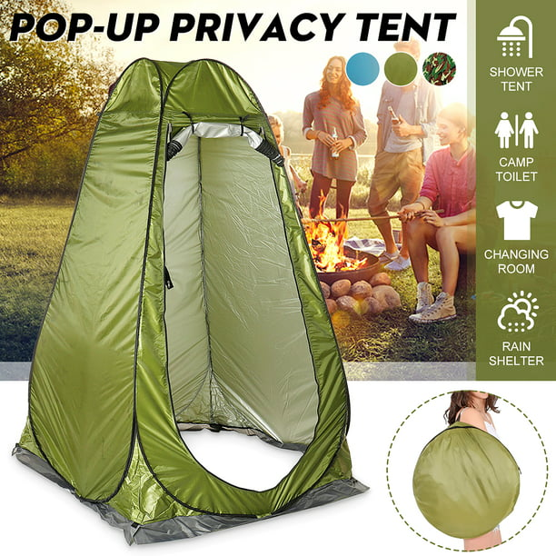 Details about  /Camping Pink Shower Tent With Carrying Bag Portable Toilet Outdoor Changing Room