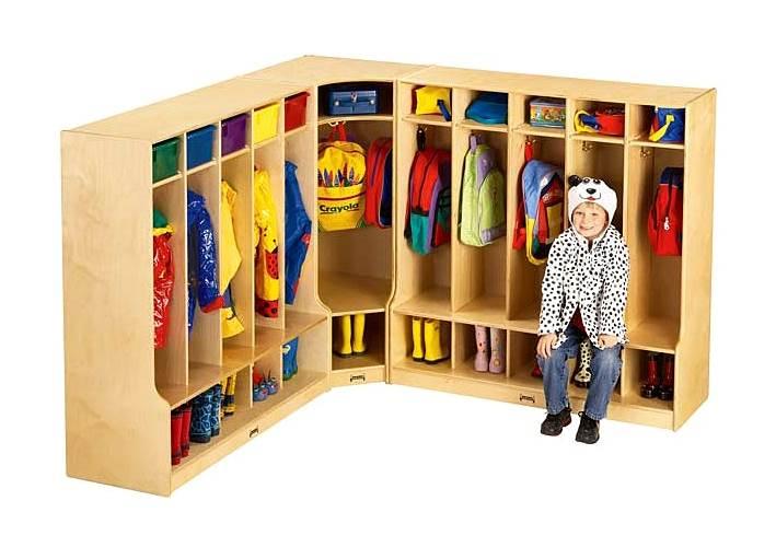Attirant Jonti Craft Childrenu0027s Corner Coat And Bookbag Storage W Cubbies