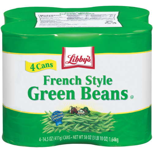 Libby's French Style Green Beans, 14.5 oz, 4 ct