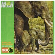 MasterPieces Animal Planet African Elephant Jigsaw Puzzle, 1000-Piece