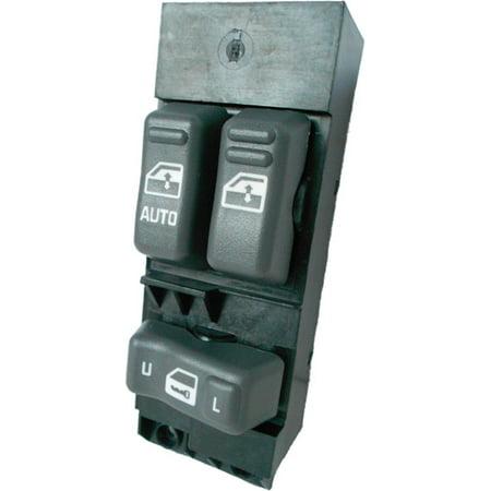 GMC Sierra C1500 C2500 C3500 K1500 K2500 K3500 Master Power Window Switch 1999-2002 (2 Window Control) (1999 2000 2001 2002) (electric control panel lock button auto driver passenger door)