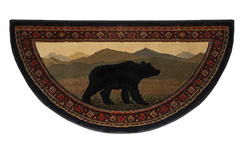 Oriental Classic Bear Hearth Rug, 15002 by Goods Of The Woods