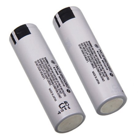 1-Pack 3200mAh 10A Rechargeable 3.7V Li-ion NCR 18650BD Battery Flat Top for Electric Tools, Toys, LED Flashlights, Torch, and Etc