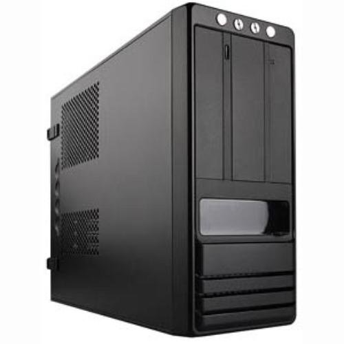 Apex MJ-16 Steel Micro ATX Mini Tower Computer Chassis (Black)