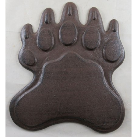 Cast Iron Bear Claw Stepping Stone (Stone County Iron Works)