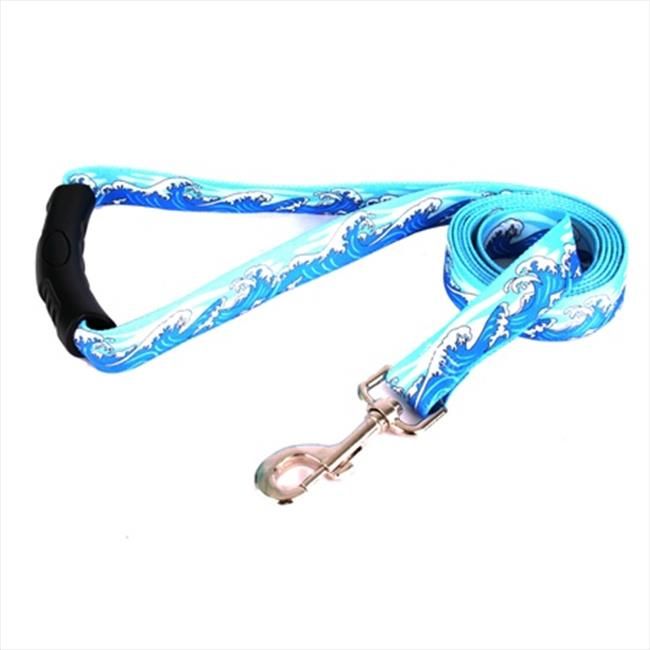 Yellow Dog Design MWB106LD-EZ 1 inch x 60 inch Mystic Waves Blue EZ-Lead