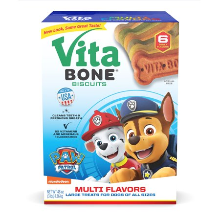 Vita Bone Flavor Large Biscuit Dog Treat