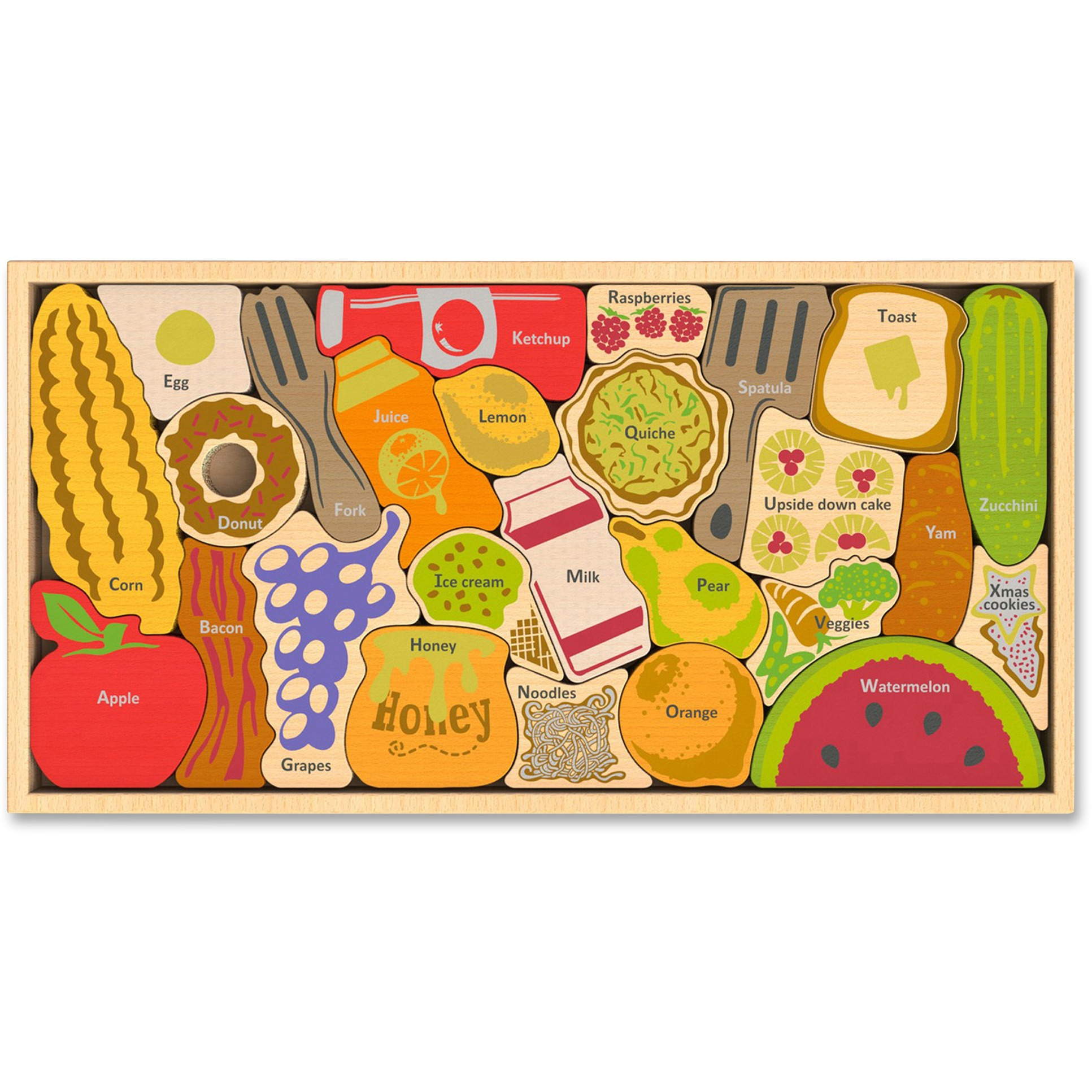 BeginAgain Toys Alphabites A to Z Wooden Puzzle by BeginAgain
