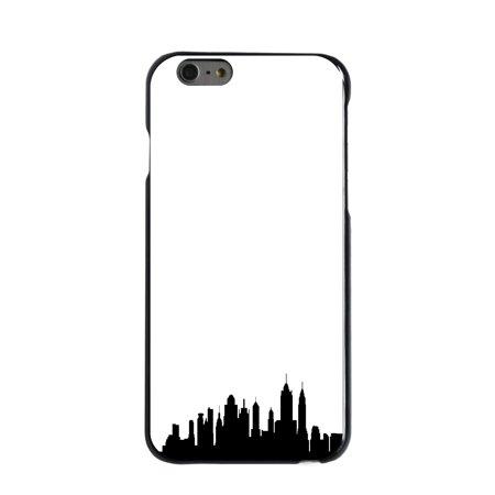 CUSTOM Black Hard Plastic Snap-On Case for Apple iPhone 7 PLUS / 8 PLUS (5.5