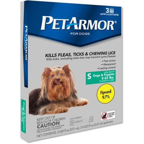 PetArmor Flea and Tick Treatment for Small Dogs, 3 Monthly Doses