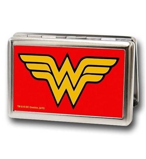 Wonder Woman Logo Business Card Holder