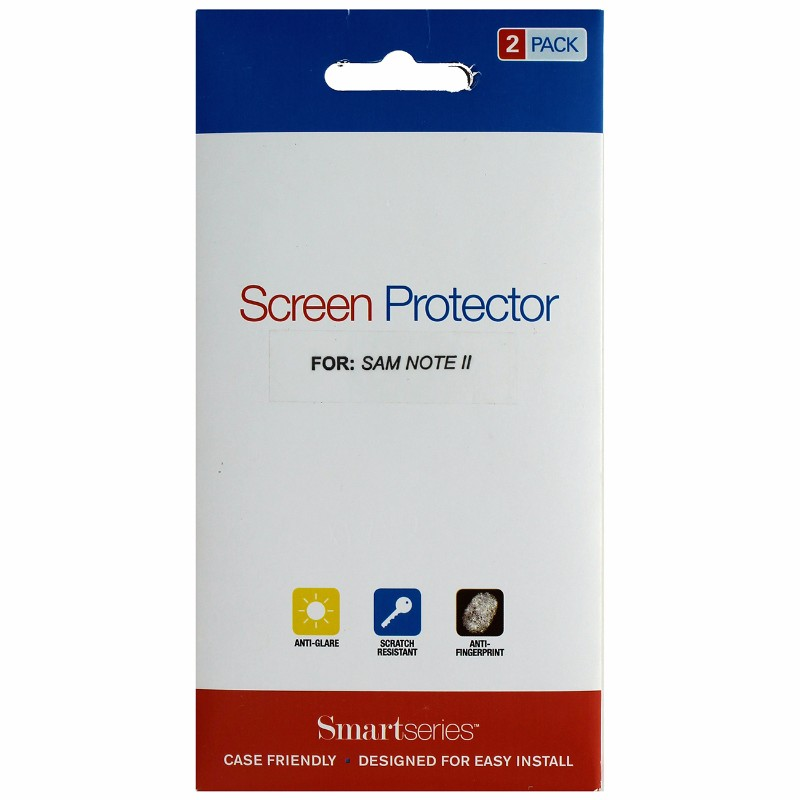 Smartseries 2-pack Screen Protector for Samsung Galaxy Note 2 II