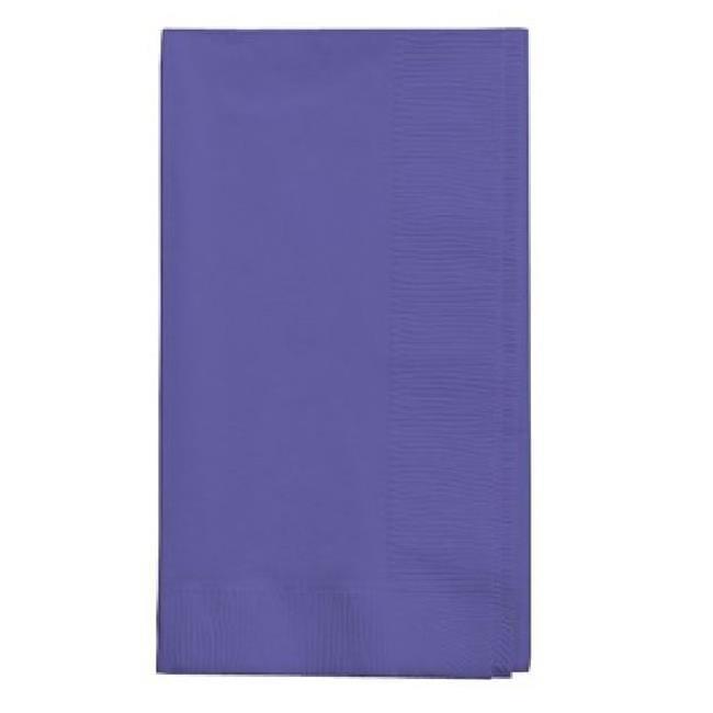 COV 67115B 16 x 16 in. Paper Dinner Napkins, Purple