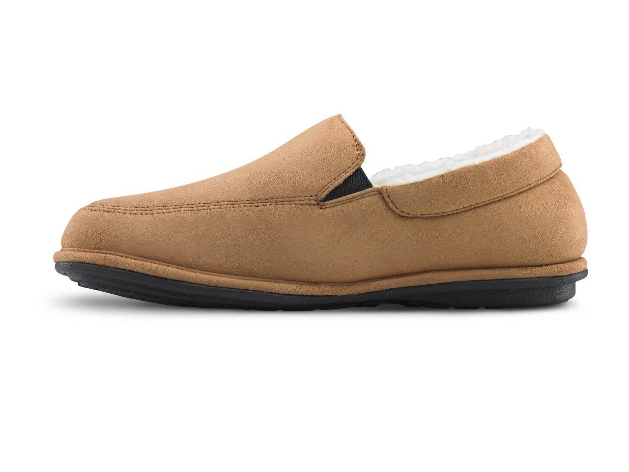 Dr. Comfort Relax Men's Slippers - Camel