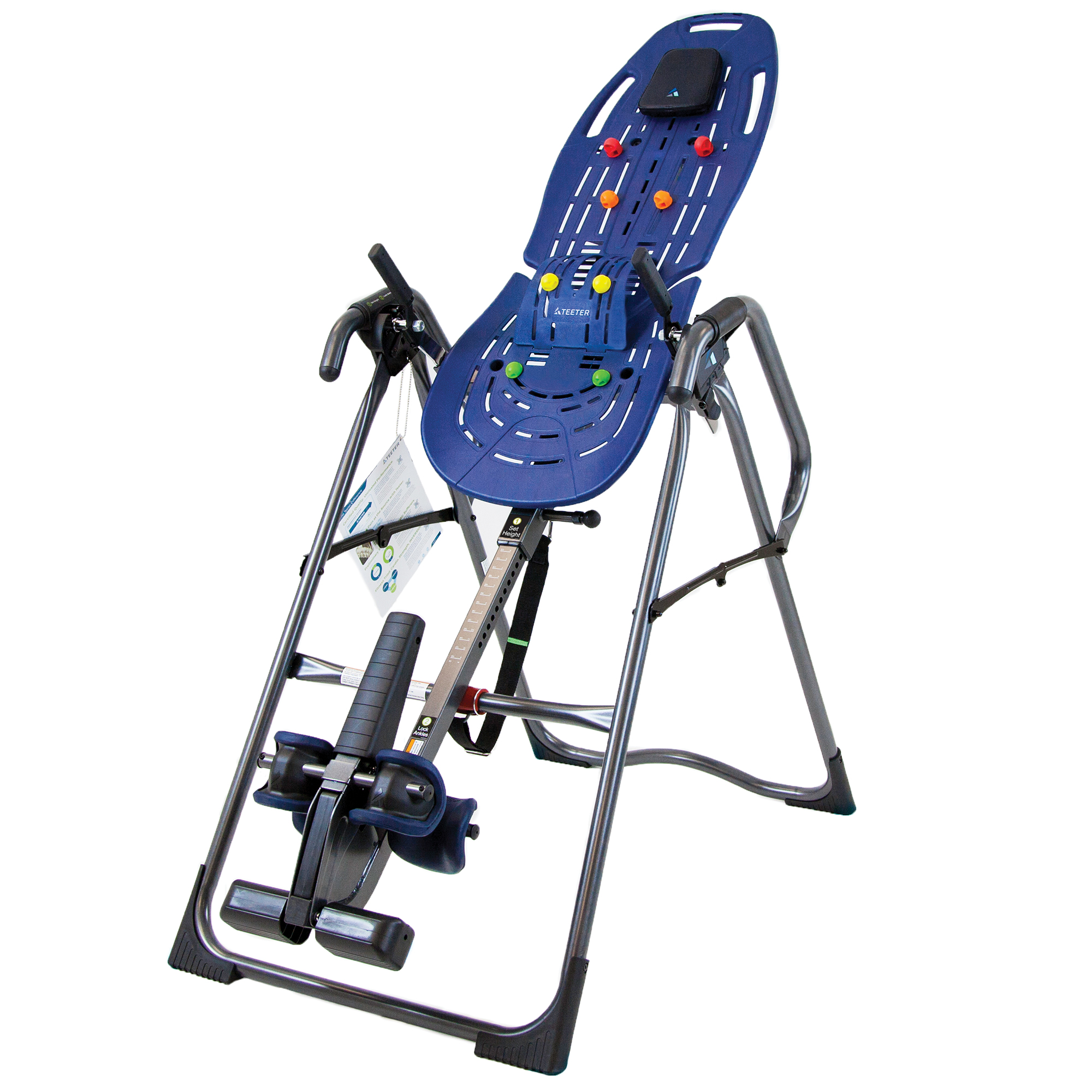 Teeter EP-960 Ltd. Inversion Table with Back Pain Relief Kit by Teeter