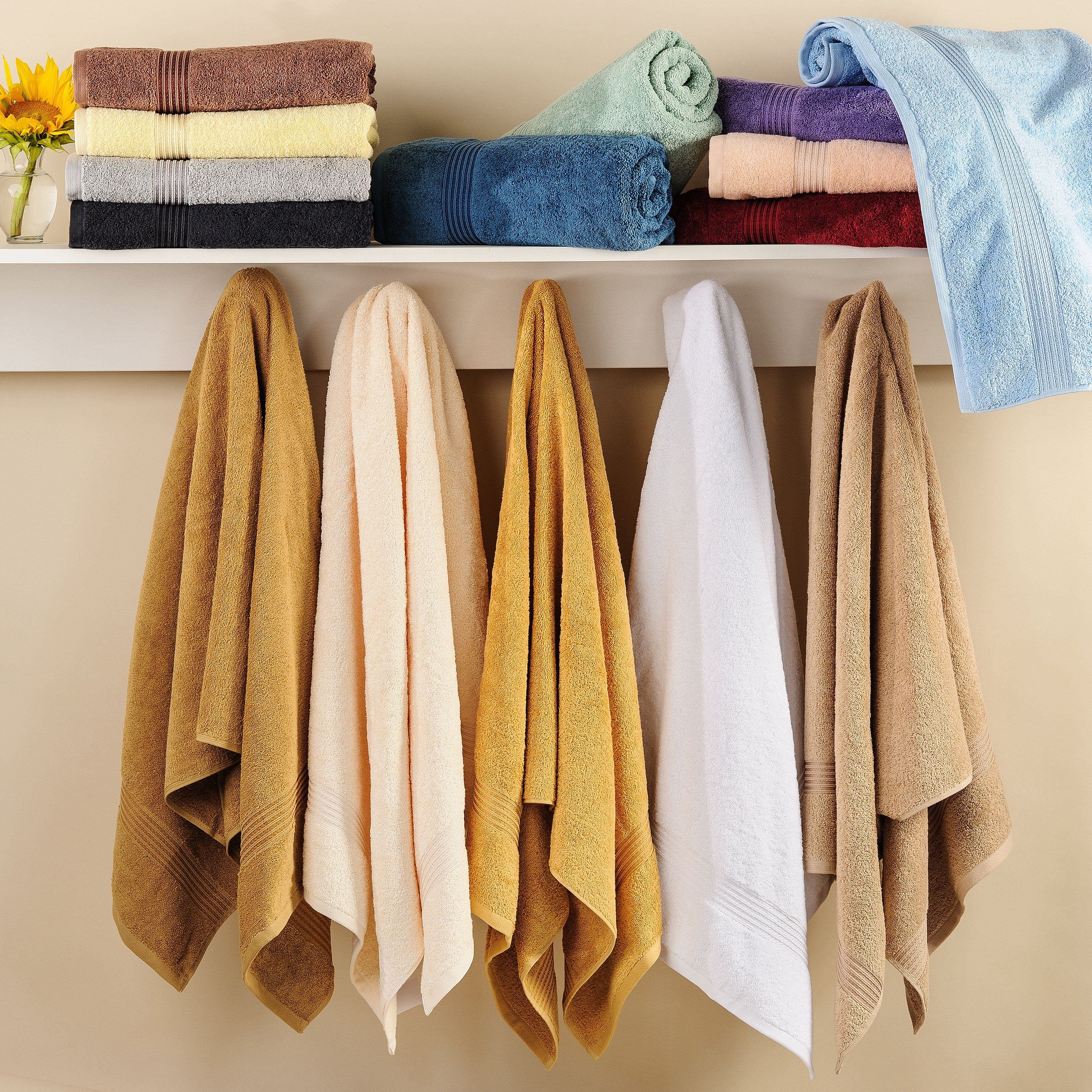 Simple Luxury Superior Wash Cloth (Set of 10)