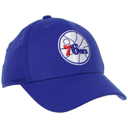 Flex Fit Pinstripe Hat - Adidas NBA Men's Philadelphia 76ers Structured Flex Fit Hat