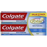 Colgate Total Whitening Gel Toothpaste, 6 oz (Pack of 2)