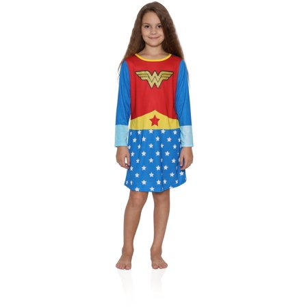 Girls' Wonder Woman Pullover Nightgown