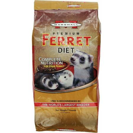 Marshall Premium Ferret Diet - Marshall Premium Ferret Diet Food, 14lb (2 x 7lb)