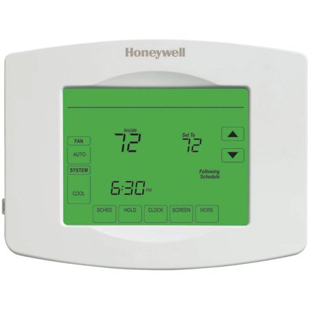 honeywell digital 1 week programmable thermostat. Black Bedroom Furniture Sets. Home Design Ideas
