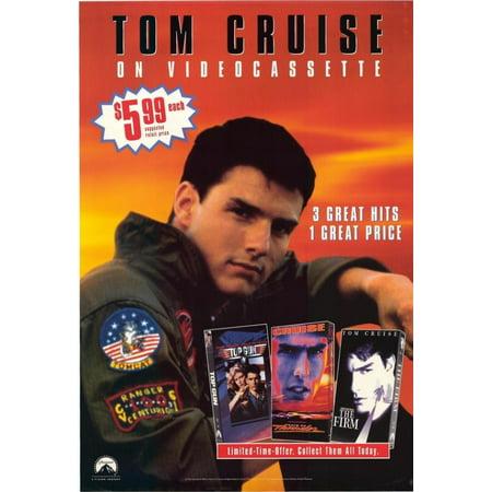 Tom Cruise Movie Poster Print  27 X 40