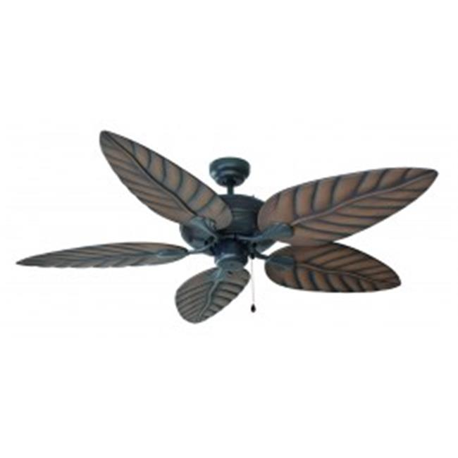Design House 154104 Martinique Indoor/Outdoor Ceiling Fan 52in Oil Rubbed Bronze - image 1 of 1