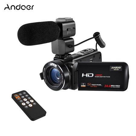 Andoer HDV-Z20 1080P 16X Digital Zoom Full HD 24MP WiFi Digital Video Camera