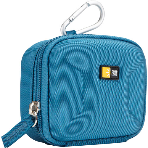 Case Logic MEQB-1F Eva Hardshell Small Digital Camera Case, Teal