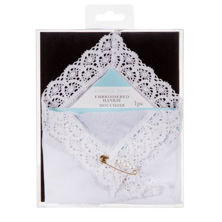 Victoria Lynn Mother of the Bride Embossed - Mother Hankie