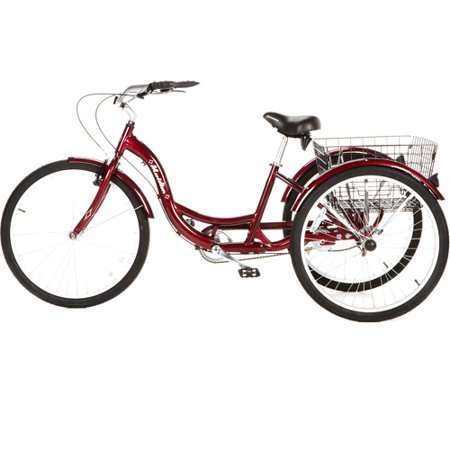 "Best 26"" Schwinn Meridian Adult Tricycle, Cherry deal"