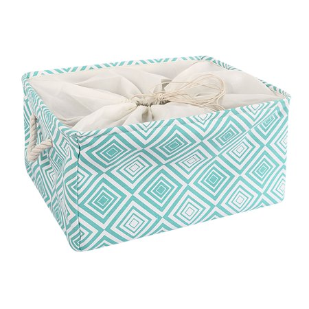 Foldable Canvas Fabric Storage Bins Baskets Closet Containers