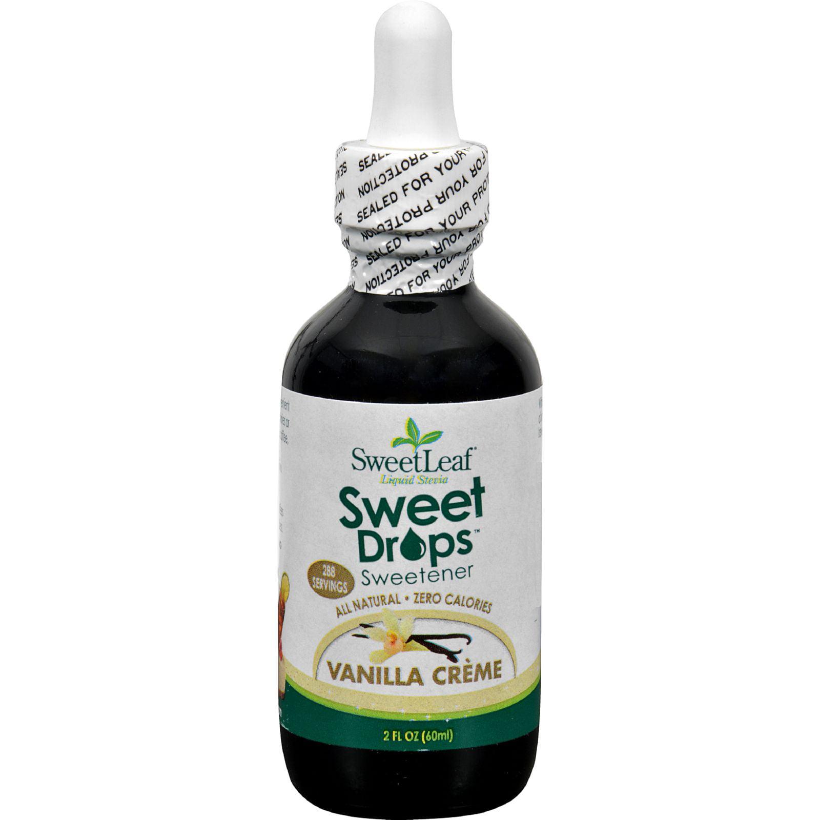 Sweet Leaf Sweet Drops Sweetener Vanilla Creme, 2.0 FL OZ