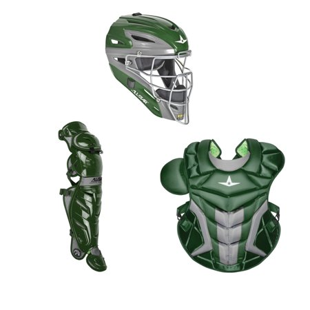 All Star Adult System7 Axis CKPRO1X Pro Catchers Gear Set Dark Green