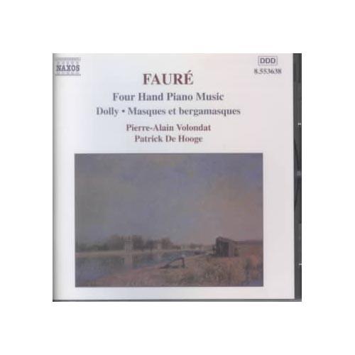 G. Faure - Faur : Four Hand Piano Music [CD]