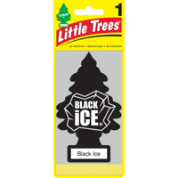 Little Trees Air Freshener Black Ice Scent, 1 Pack