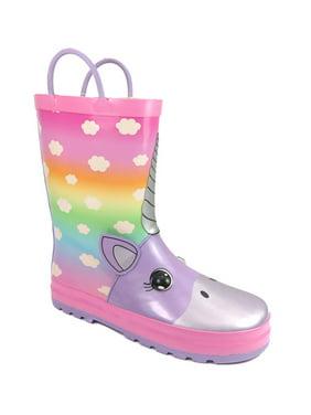 Girls Wonder Nation Unicorn Rainboot