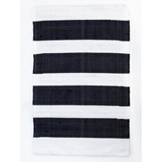 CLM Brewster Navy/White Area Rug