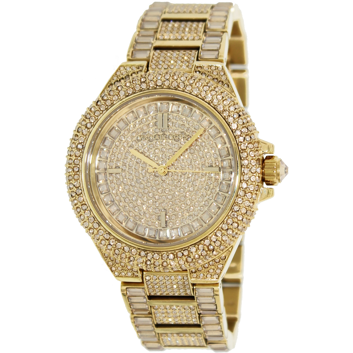 Michael Kors Women\u0027s Camille MK5720 Gold Stainless-Steel Japanese Quartz  Fashion Watch