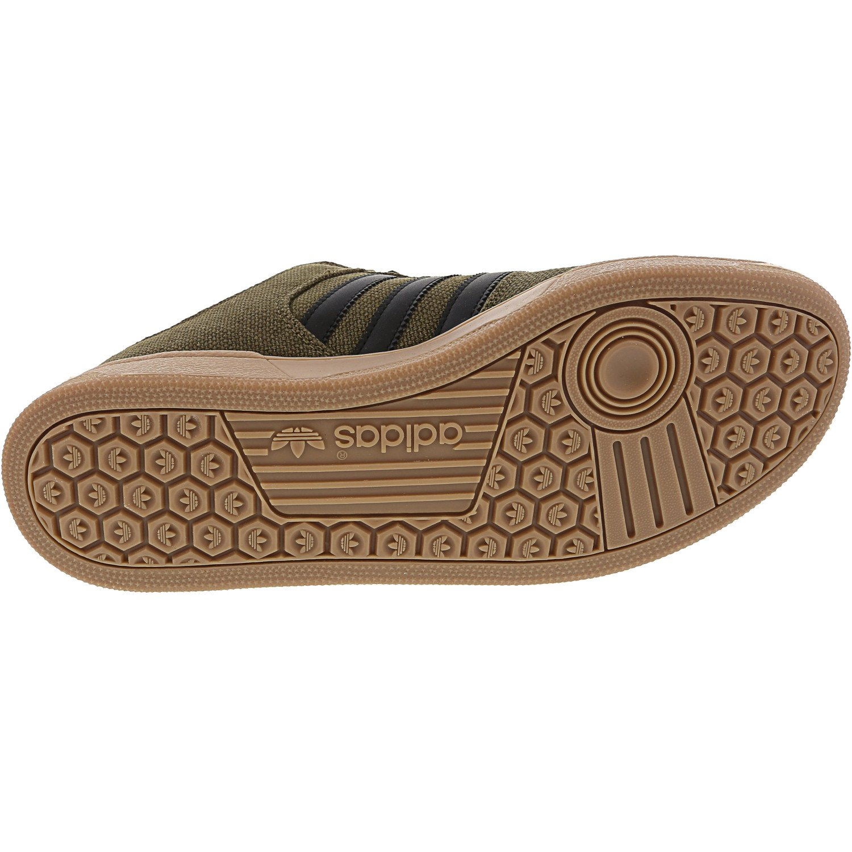 Adidas Men's Bucktown St Trace OliveCore BlackGum Four Ankle High Fashion Sneaker 9M