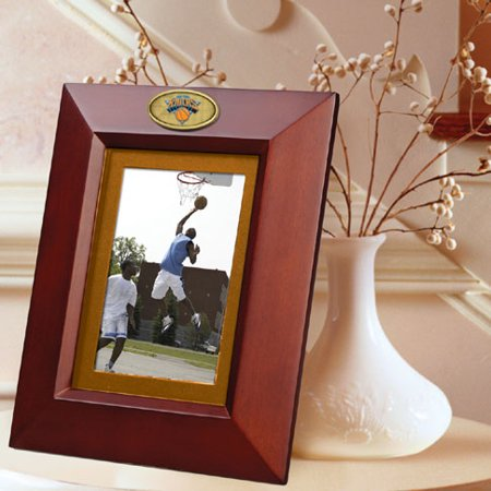 New York Knicks BROWN Portrait Picture Frame by
