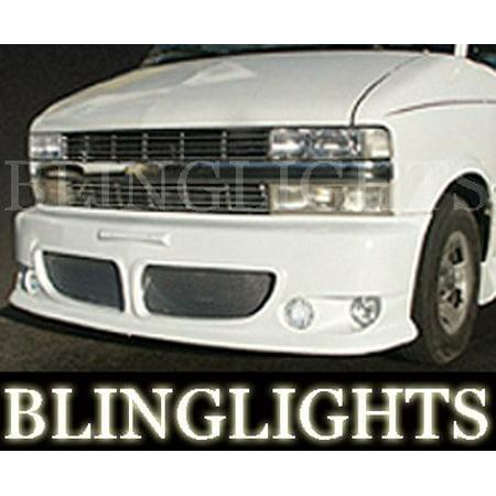 Erebuni Body Kit - 1995-2007 CHEVROLET ASTRO EREBUNI BODY KIT FOG LIGHTS LAMPS 2000 2001 2002 2003 2004 2005 2006