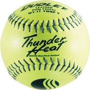 "Dudley 12"" Yellow ASA .47 Cor Fastpitch Softball (Dozen) by Dudley"