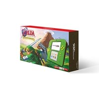 Used Like New Nintendo 2DS with the Legend of Zelda Ocarina of Time 3D (Link Edition)