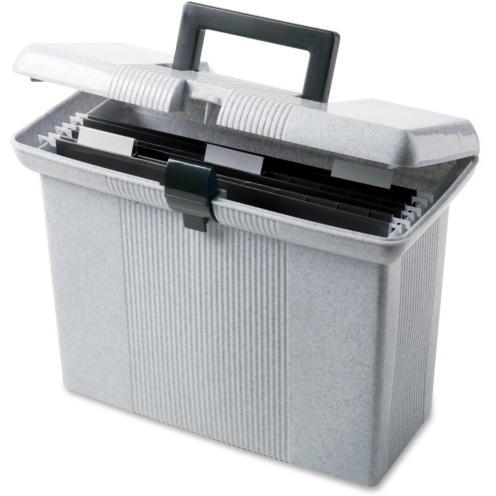 Pendaflex, PFX41737, Portafile File Storage Box, 1 Each, Granite - Walmart.com